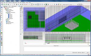 熱流分析軟體,flotherm, mesh